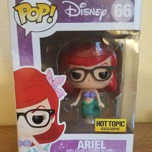 Little Mermaid Hipster Nerd Ariel Funko Pop